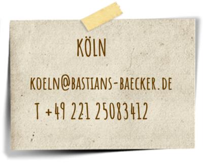 Bastian`s Bäckerei in Köln